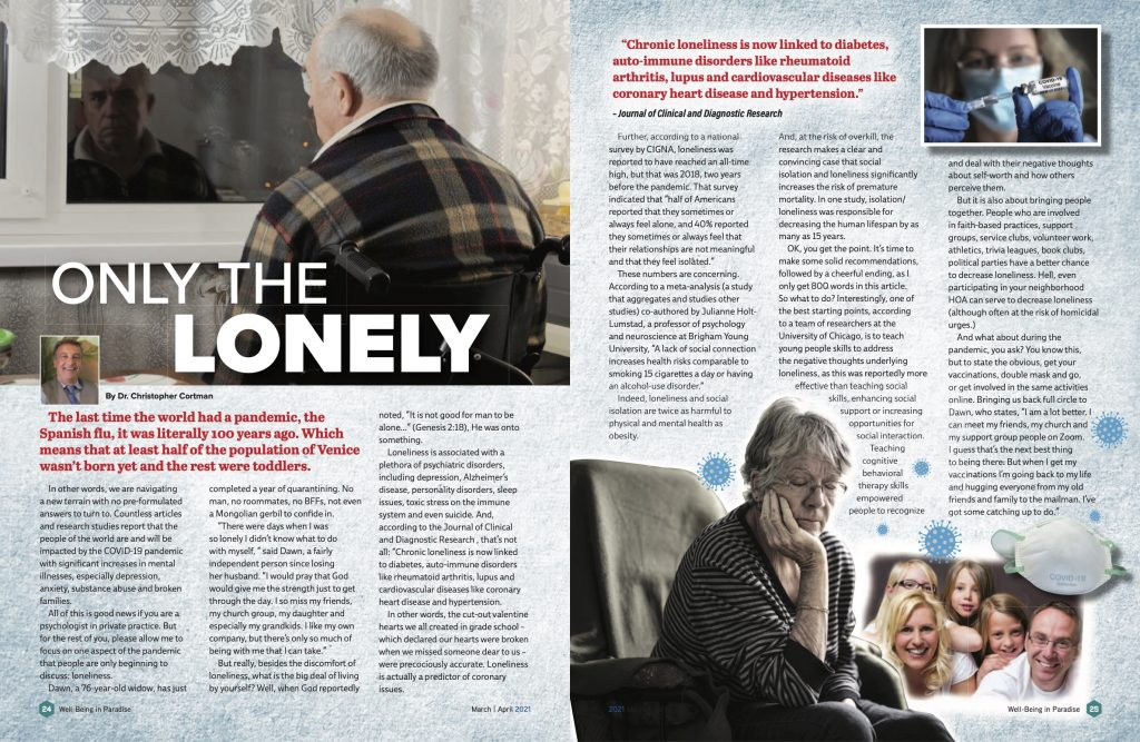 Only The Lonely | Dr. Christopher Cortman